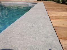 Modern Pool And Spa, Modern Pools, Swimming Pool Designs, Swimming Pools, Wc Design, Backyard, Patio, Stairs, Stone
