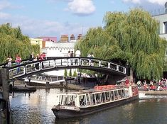 Cruise on the London Waterbus. | 19 Splendid Things To Do In London For Less Than A Fiver