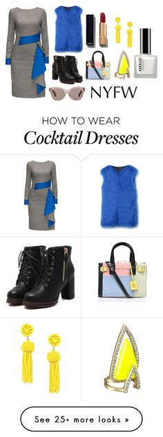 """""""I didn't Understand"""" by thefluffierunicorn on Polyvore featuring Lattori, Chanel, Kurt Geiger, Alexis Bittar, Oliver Peoples, women's clothing, women, female, woman and misses"""