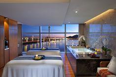 """Couples Suite""with amazing view, Luxury Spa Series, Mandarin Oriental Macau"
