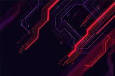 Futurystyczna koncepcja tło Darmowych We. Science Background, Tech Background, Background Design Vector, Technology Background, Geometric Background, Lights Background, Galaxy Background, Futuristisches Design, Vector Design