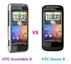The HTC Incredible S vs Desire S are two amazing smartphones of the company having rich specifications, functions and features.