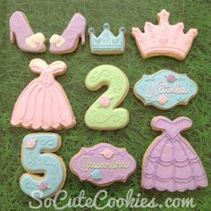 What little girl wouldn't want princess cookies and fancy dresses?