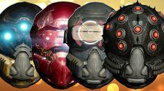 Destiny - All Exotic Hunter Helmets Reviewed!