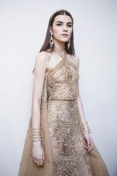Backstage at Elie Saab Couture Spring 2017 - Beautiful Backstage Couture Photos From Paris - Photos