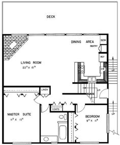 24 x 36 cabin plans with loft bing images cabin for Very small cottage house plans