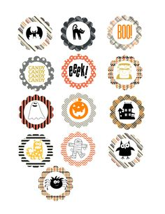 "Need a CUTE last minute Halloween treat? Us Stampin' Up's 1 3/4"" scalloped punch to punch these out back to back, tape onto toothpicks or skewers and stick into any Halloween treat! Uses MDS templates howlstooth and scaringbone designer series paper and spooky bingo bits (both included in free trial). TRY MDS FOR FREE: http://www.stampinup.com/ECWeb/CategoryPage.aspx?categoryid=948&dbwsdemoid=2006013"