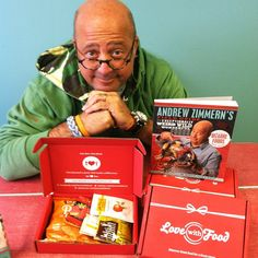 Andrew Zimmern curated Love With Food's April box! Wow. Sign up for your first box free.