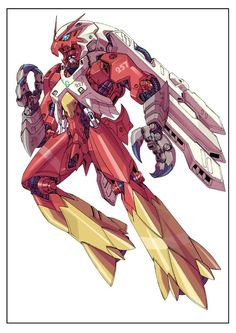 Mecha Blaziken? Gundam meets Pokemon