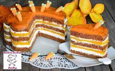 Szalona Kuchnia Eweliny: Ciasto marchewkowe z musem brzoskwiniowym