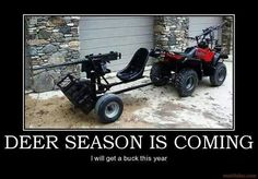 Deer season is coming - and I will get a buck this year!