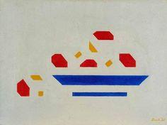 Bart van der Leck: Bowl with Apples