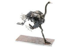 Edouard Martinet's enchanting metal animal sculptures are made...