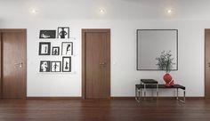 Espaços de circulação Tek -  A principal premissa para a decoração do hall e corredor Tek foi a necessidade funcional e distributiva destes espaços. Em ambos os espaços os elementos vermelhos quebram a rigidez do branco e preto.  www.baobart.pt #baobart #mobiliario #pecasdecorativas #atelier #arquitetura #Portugal #Angola #Luanda #decor #design #decoracao #decorating #interiordesign #instadesign #homedecor #summer #inspiração #hall #fotografia #photography #verão #hall #corredor