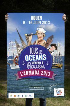 L'armada 2013. Du 6 au 16 juin 2013, L'armada à Rouen www.armada.org
