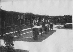 Rabat  Foire de Rabat : vue de l'ensemble des stands  1917.09.16