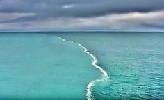 The Town Of Skagen,the Northernmost Point Of Denmark, Where The Baltic And North Seas Meet. The Two Opposing Tides Can Not Merge Because They Have Different Densities