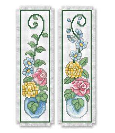 flowers bookmark