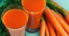 Suco de limão com cenoura para emagrecer