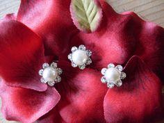 Haarschmuck zur Hochzeit oder Kommunion 3 teilig von Kränzchen und Co. auf DaWanda.com
