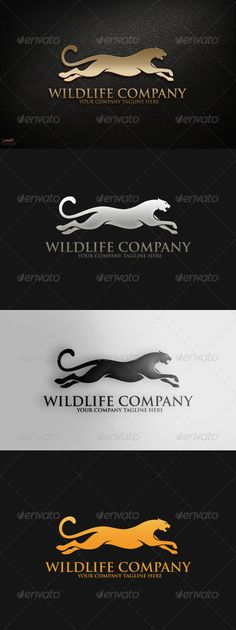 Cougar Logo Design Template Vector #logotype Download it here: http://graphicriver.net/item/cougar-logo-template/5698651?s_rank=1608?ref=nexion