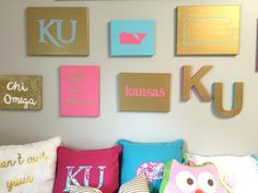 Preppy Wall Art ideas | Daily Dose of Charm by Lauren lindmark