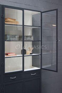 Apothekerskast Ferro 4-7021   1-1512-032   Old BASICS Bookshelves, Divider, Room, Furniture, Home Decor, Bedroom, Bookcases, Decoration Home, Room Decor
