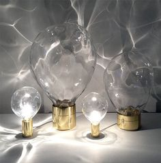 Crystal Lamp that Bring Texture and Create Pattern ripple crystal lamp3