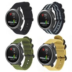 Want areliable band with a more versatile look?  This Nylon Sport Garmin Vivoactive 3/ Garmin 645/ Viomove HR Strap is a good pick. With a comfortable design and a seamless look, this strap is great for working out or all-day wear at the office. Now you can wear your fitness tracker anytime, anywhere! Goes well Smart Fitness Tracker, You Fitness, Volkswagen Touran, Smart Watch, Band, Sports, Desktop, Design, Watches