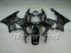 Carenado de ABS de Honda CBR900RR 893 1992-1995 - Gris/Negro