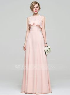 A-Line/Princess Sweetheart Floor-Length Bow(s) Zipper Up Strapless Sleeveless Yes Pearl Pink Spring Summer Fall General Plus Chiffon Bridesmaid Dress Formal Nursing Dress, Cute Dresses, Prom Dresses, Indian Gowns Dresses, Amazing Wedding Dress, Blue Bridesmaid Dresses, Mode Hijab, Dress With Bow, Wedding Party Dresses