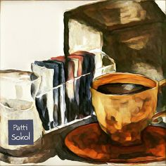 Morning coffee diner style. #goauche #diners #coffee #theydrawandcook #pattisokol #12monthsofpaint  #helloartgallery  #picame #art_we_inspire  #graphicroozone #creativewomen  #wherewomencreate  #printandpattern  #illustrationartists #designinspiration #calledtobecreative #dslooking #dspattern #surfacedesigner #surfacedesign #painteveryday #illustrationartists #doitfortheprocess  #whatsinsideyournotebook  #thedailygallery  #lifelivedbeautifully  #theeverygirl #makersco #thatsdarling…