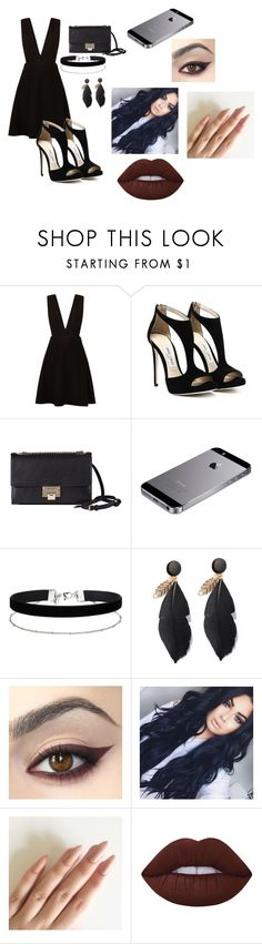 """""""Sem título #80"""" by jhenni-07 on Polyvore featuring moda, New Look, Jimmy Choo, Miss Selfridge e Lime Crime"""