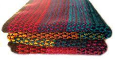 Crochet Moroccan Desert Blanket Pattern by Wool Monkey