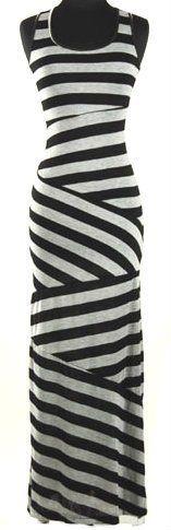 Savannah Studios Gorgeous Grey and Black Striped Maxi Dress Savannah, http://www.amazon.com/dp/B009L3V2VS/ref=cm_sw_r_pi_dp_GDAHqb1BKT84Y