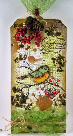 Suzz's Stamping Spot: Stampendous and Scrapbook Adhesives Hop On