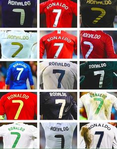 #7 #CR7 I WANT ALL OF THEM