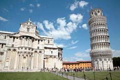 """Leaning Tower, Pisa    The very word """"Pisa"""" conjures images of a jauntily askance, ornate white marble cylinder, framed by sunny blue skies and as iconic of Italy as pizza and tomato sauce. A view andaphotosessiondo not suffice: Climbing the tower is one of Italy's most exhilarating experiences.    Photo Caption: Though its prominent lean looks disconcerting to prospective climbers, the Leaning Tower of Pisa is now stable.    Photo by Vanessa Berberian"""