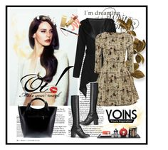 """Yoins 008"" by aida-1999 ❤ liked on Polyvore featuring moda, Fornasetti, Massimo Castelli ve yoins"