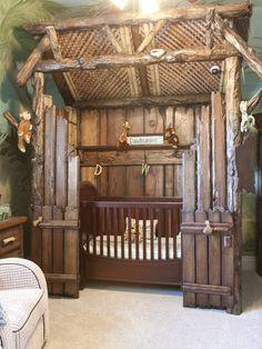 omg...camo themed nursery. Love this idea!!!