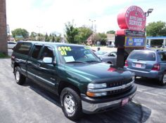 This 2001 Chevrolet Silverado 1500 LS is listed on Carsforsale.com for $6,995 in Milwaukee, WI. This vehicle includes Anti-Theft System - Alarm, Axle Ratio - 3.73, Clock, Cruise Control, Daytime Running Lights, Exterior Entry Lights, Front Air Conditioning, Front Airbags - Dual, Front Bumper Color - Chrome, Front Seat Type - Split-Bench, Front Wipers - Intermittent, Gauge - Tachometer, Headlights - Auto On/Off, In-Dash Cd - Single Disc, Multi-Function Remote - Keyless Entry, Power Brakes...