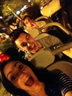 Brendon & Sarah Urie and is that Jack Barakat in the background? THAT IS JACK IN THE BACKGROUND