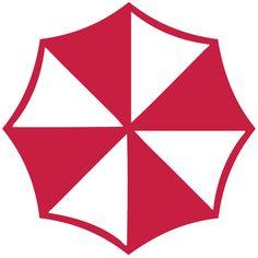 Umbrella Corporation Resident Evil Logo Wall Decal by Acherryortwo, $4.99