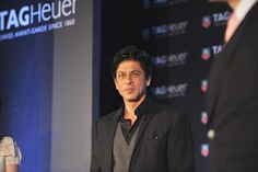 Shahrukh Khan Launches TAG Heuer Carrera 1887 Series Watches.   Bollywood Cleavage