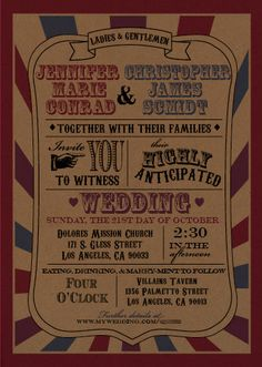 Gray and Ivory Concert Ticket Wedding InvitationMusic Invites etc