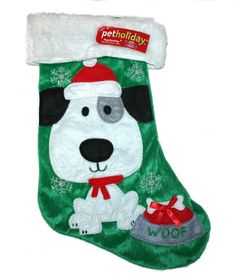 Have you seen these adorable Christmas stockings for dogs? Get one for your pet before Christmas! #dogs #doggifts #pets #christmas #giftideas #dog
