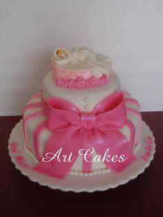 Christening Cake by Art Cakes, via Flickr