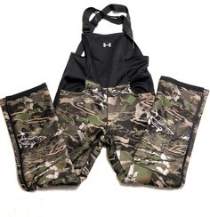 finest selection 0a1db ba6f7 UNDER ARMOUR WOMENS UA STEALTH STORM SHERPA FLEECE CAMO HUNTING BIB OVERALL   170  Underarmour