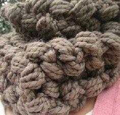 chunky cowl crochet