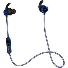 JBL Reflect Mini Bluetooth In-Ear Sport Headphones, Blue JBL